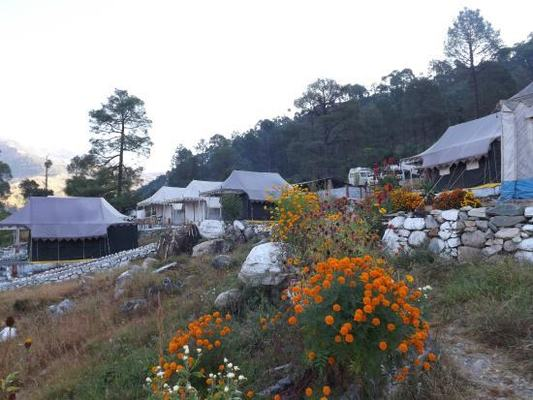Camp Nirvana Barkot