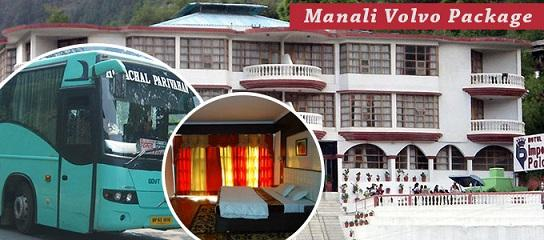 Book Trip to Manali Volvo Tour Travel Packages Holidays