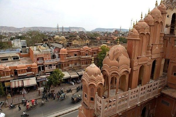 Golden triangle with Mathura tour, golden triangle tour