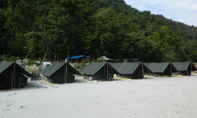 Camp Cross Fire  Rishikesh