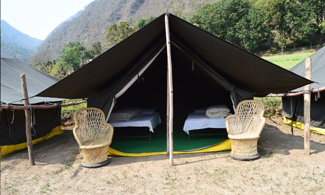 Camp Ganga View